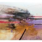 Carte de souhaits 5x5, Vulnérable mais invaincue, de l'artiste Sophie Ouellet, dimension : 5 x 5 pouces largeur, sans texte, avec enveloppe, Vous pouvez inscrire votre message à l'intérieur, Carte vendue à l'unité